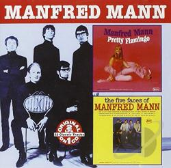 Mann, Manfred - Pretty Flamingo/The Five Faces of Manfred Mann CD Cover Art