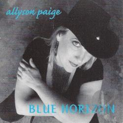 Allyson Paige - Blue Horizon CD Cover Art