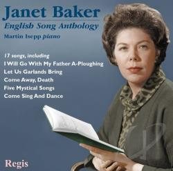 Baker, Janet - English Song Anthology CD Cover Art