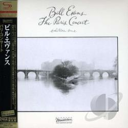Evans, Bill - Paris Concert Edition One CD Cover Art