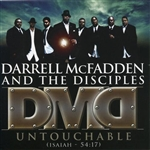 Mcfadden, Darrell & The Disciples - Untouchable Isaiah 54:17 CD Cover Art