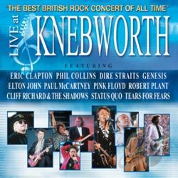 Live at Knebworth CD Cover Art