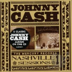 Cash, Johnny - Johnny Cash Is Coming to Town/Water from the Wells of Home CD Cover Art