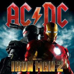 AC/DC - Iron Man 2 CD Cover Art
