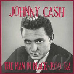 Cash, Johnny - Man in Black: 1959-1962 CD Cover Art