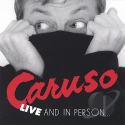 Caruso, Jim - Live and in Person CD Cover Art