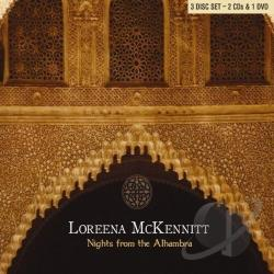 McKennitt, Loreena - Nights from the Alhambra CD Cover Art