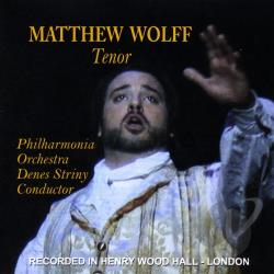 Wolff, Matthew - Great Italian Tenor Arias CD Cover Art