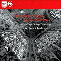 Choir Of Kings College / Cleobury / Tallis - Tallis: Spem in Alium; Lamentations CD Cover Art