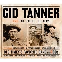 Gid Tanner & His Skillet Lickers / Tanner, Gid - Gid Tanner & the Skillet Lickers CD Cover Art
