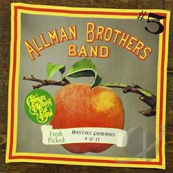 Allman Brothers Band - Fresh Picked: Boston Common 8/17/71 CD Cover Art