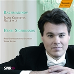 Rachmaninoff / SWR Radio So / Sigfridsson / Solyom - Rachmaninov: Piano Concertos Nos. 2 & 3 CD Cover Art