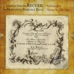 Harriet St. Clair Jones - Selections From The Recueil By Francesco Pasquale CD Cover Art