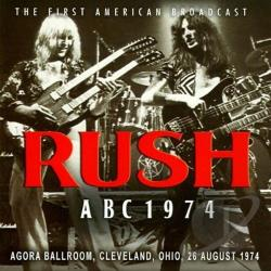 Rush - Rush ABC 1974: The First American Broadcast LP Cover Art
