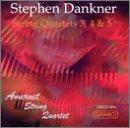 Amernet Str Qt - Danker: String Quartets CD Cover Art
