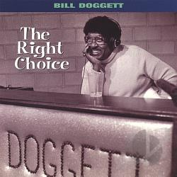 Doggett, Bill - Right Choice CD Cover Art