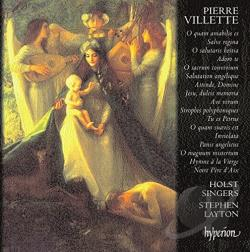 Layton / Villette / Vivian - Pierre Villette: Motets CD Cover Art