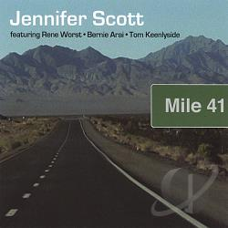 Scott, Jennifer - Mile 41 CD Cover Art