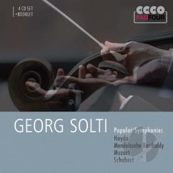 Solti, Georg - Popular Symphonies CD Cover Art