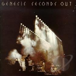 Genesis - Seconds Out CD Cover Art