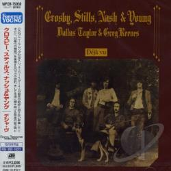 Crosby, Stills, Nash & Young - Deja Vu CD Cover Art