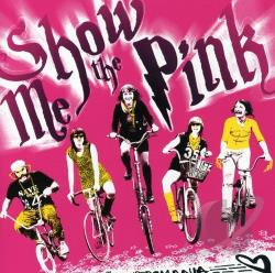 Show Me The Pink - Velocipedomania CD Cover Art