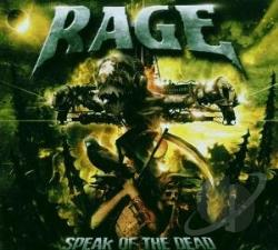 Rage - Speak of the Dead CD Cover Art
