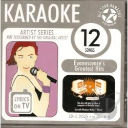 Evanescence Greatest Hits 1 - Karaoke: Evanescence Greatest Hits 1 CD Cover Art