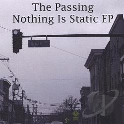 Passing - Nothing Is Static EP CD Cover Art
