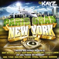 Paris Oran New York CD Cover Art