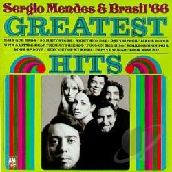 Mendes, Sergio & Brasil 66 - Greatest Hits of Brasil '66 CD Cover Art