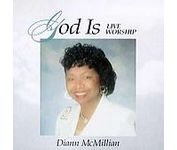 Mcmillian, Diann - God Is CD Cover Art