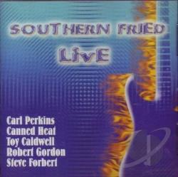 Southern Fried Live CD Cover Art