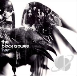 Black Crowes - Live CD Cover Art