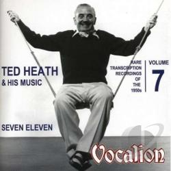 Heath, Ted - Rare Transcription Recordings Of 1950S 7 CD Cover Art
