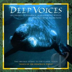 Songs Of The Humpback Whale - Deep Voices: Recordings Of Humpback, Blue, And Right Whales CD Cover Art