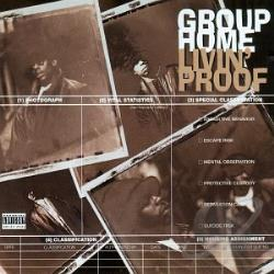 Group Home - Livin' Proof CD Cover Art