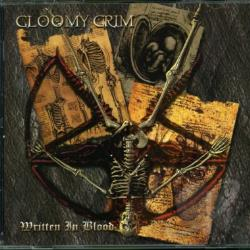 Gloomy Grim - Written In Blood CD Cover Art