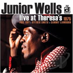 Wells, Junior - Live at Theresa's 1975 CD Cover Art