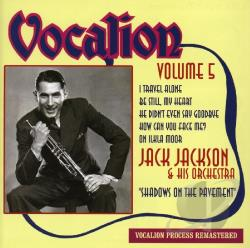Jackson, Jack & His Orchetsra - Shadows On The Pavement 5 CD Cover Art
