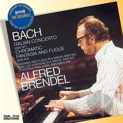 Bach / Brendel, Alfred - J.S. Bach: Italian Concerto BWV 971; Chromatic Fantasia and Fugue BWV 903 CD Cover Art