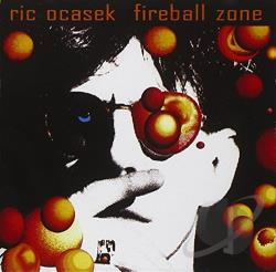Ocasek, Ric - Fireball Zone CD Cover Art