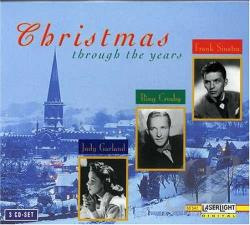 Christmas Through The Years CD Cover Art
