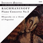 Rachmaninoff - Rachmaninoff: Piano Concerto No. 2; Rhapsody on a Theme of Paganini CD Cover Art