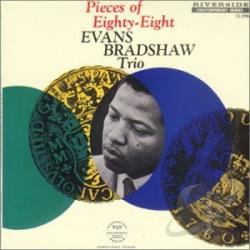 Bradshaw, Evans - Pieces of Eighty-Eight CD Cover Art