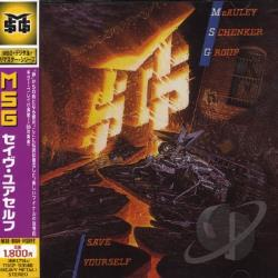McAuley-Schenker Group - Save Yourself CD Cover Art