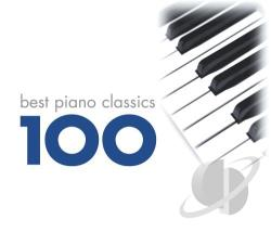 Best Piano Classics 100 - 100 Best Piano Classics CD Cover Art