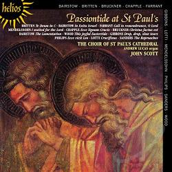 Choir Of St Paul's Cathedral / Scott - Passiontide at St Paul's CD Cover Art
