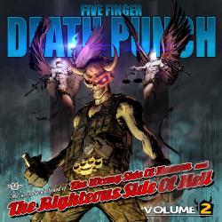 Five Finger Death Punch - Wrong Side Of Heaven & Righteous Side Of Hell 2 CD Cover Art