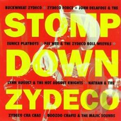 First Flight - Stomp Down Zydeco CD Cover Art